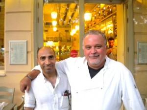 Yunanlı şef Aris Tsanaklidis ve sahibi olduğu KUZİNA restoran